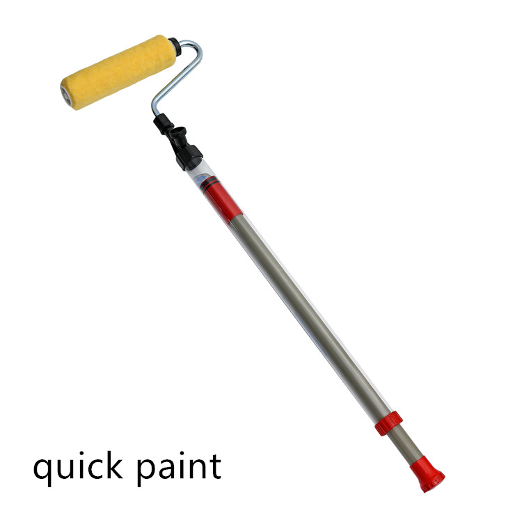 Prefessional Hand Held Paint de Roller brush quick paint handle designer Painting Wall Tools Paint Roller