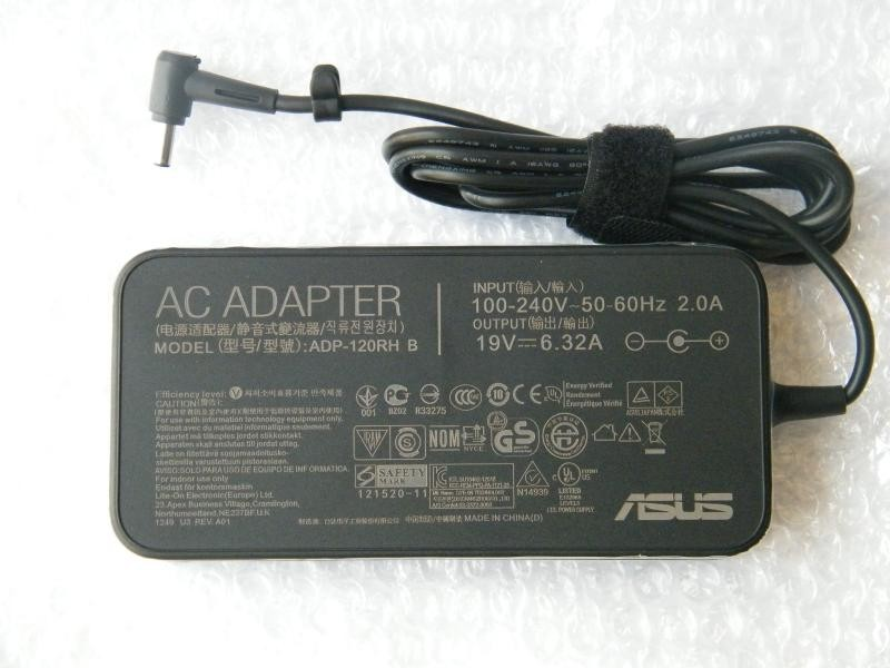 Original new 120W PA-1121-28 ADP-120RH B For Asus ZenBook Pro UX501 UX501J UX501JW AC Adapter Charger + free cord