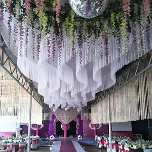 Ceiling Drapes For Wedding