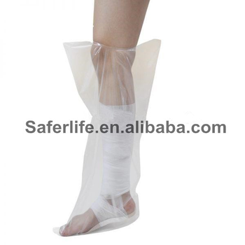 New arrival foot disposable waterproof cast hand or leg protector cast cover