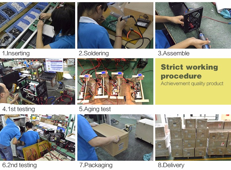 dc to 3 phase ac power inverter production process