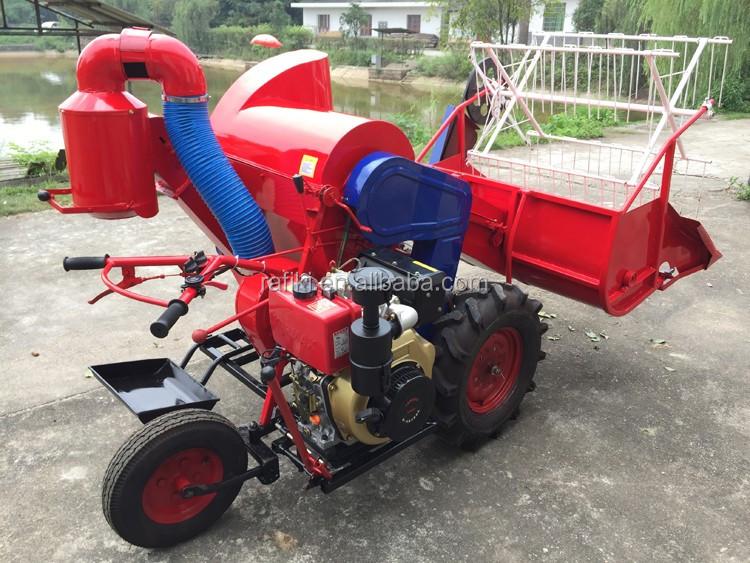 WHEEL-TYPE LIGHT-DUTY COMBINE HARVESTER 4LZ-0.6/combine harvester/price of rice harvester