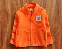 Warm Thick Child Fleece Jacket For Winter Season
