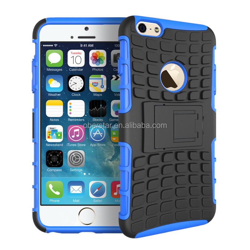 Armor Heavy duty shock proof stand Defender Reinforced bulder hard case cover Kickstand Tradesman For iPhone 6 5.5 inch