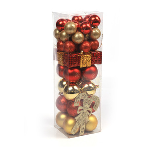 Xmas Baubles Decorations HOT Plastic Christmas Balls with New Style