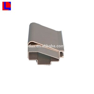 golden anodized furniture 6000 series extruded alloy profile aluminum en aw 6063