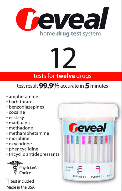 REVEAL 12 Panel Home Drug Test