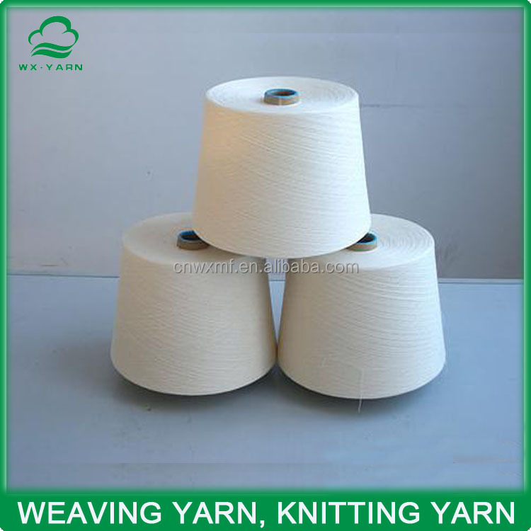 Ne 21s China recycled cotton yarn supplier for knitting