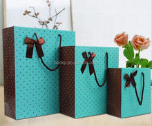 custom shopping industrial gift use paper packaging bag