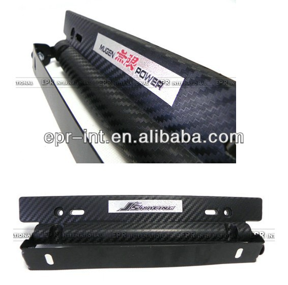 Hot Selling Adjustable Carbon Fiber License Plate Holder Frame