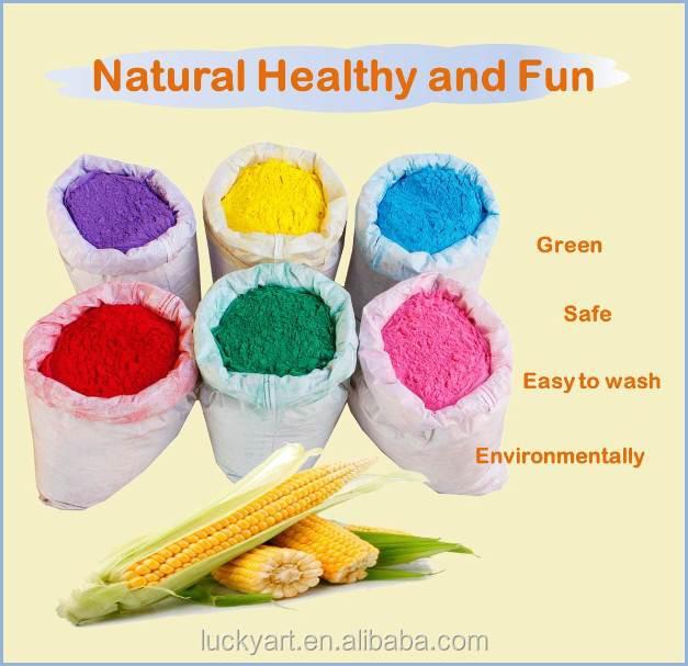 Wholesale Corn Starch Holi Powder Natural Food Coloring No ...