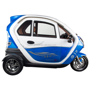 2018 factory price new adult three seater 3 wheel electric car electric vehicle with EEC