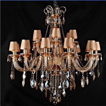 Italian Amber Blown Glass Chandelier Parts Lightings Lamp - Buy ...