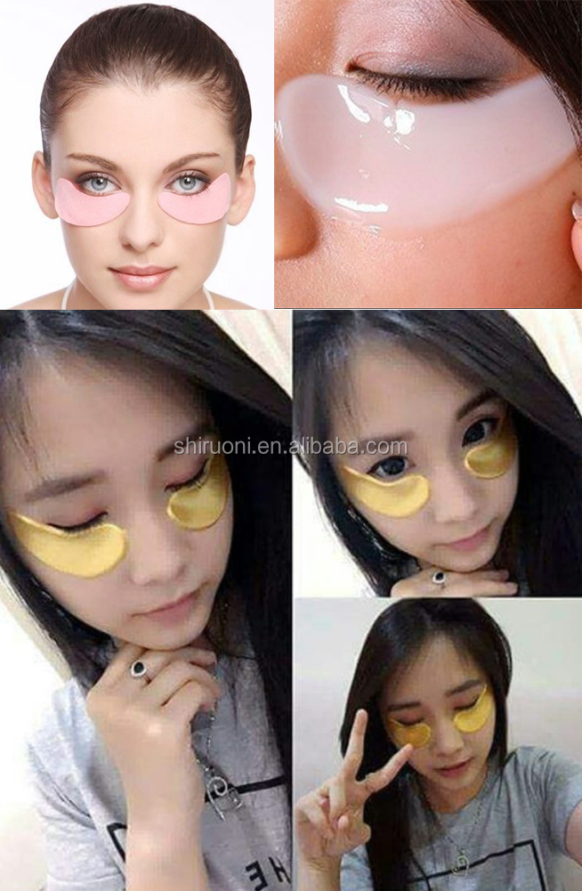 Private Label Anti-Rughe Collagene Crystal Eye Gel Patch Eye Mask