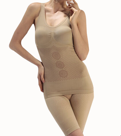 2015 Slimming ShapeWear Hot Shapers For Women Body Shaper Healthy Comfortable 2 Pieces Women Shapers