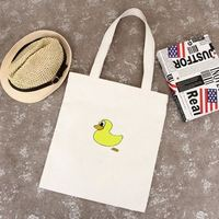 Custom canvas bags with personalized logo printed