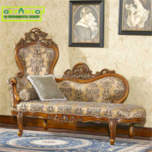 OE-FASHION Antique French Chaise Lounge/elegant luxury hotel chaise lounge