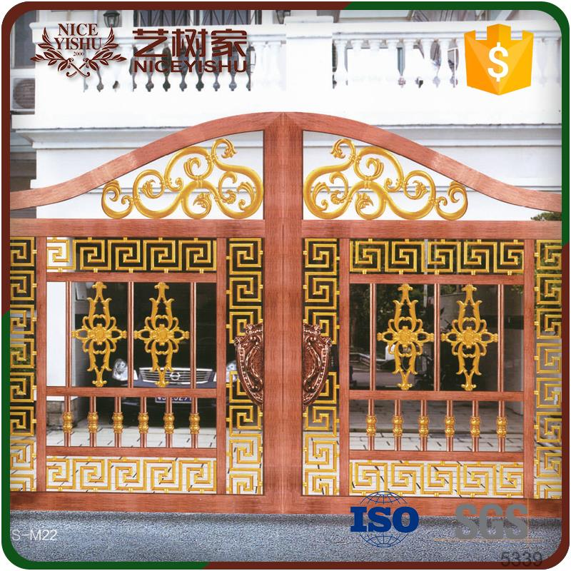 Ornamental Exteriorhouse Main Iron Pipe Gate Design Luxury Outdoor ...