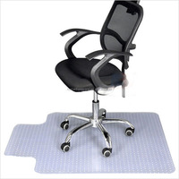 Residential Floor Protection office chair mat for carpet ,hard floor Eco - friendly Material