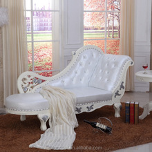 Fabric Tufted Chaise Lounge Chair Stylish Traditional Classic Seating Furniture Living Room