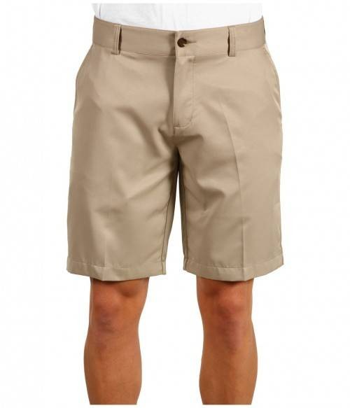 Schoolwear Flat Front Twill Girls And Boys Khaki Shorts Pants ...