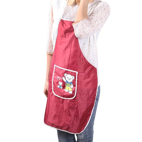 kitchen textile products chef apron,100% spun polyester aprons,Funny fabric kitchen waterproof apron