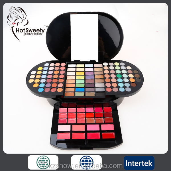 Make up kit grand professionnel maquillage ensemble boîte, 3 couches multifountion maquillage kit cosmétiques gros