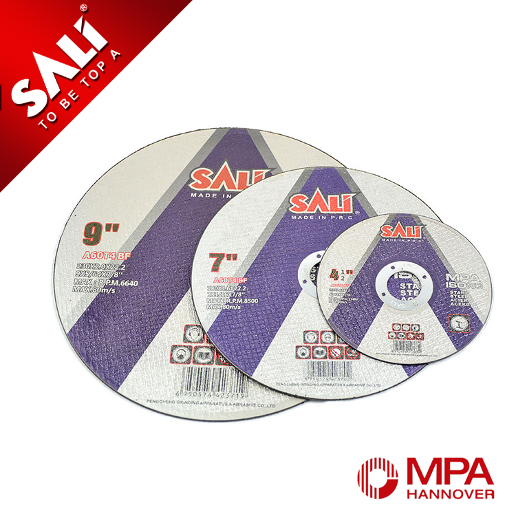 Good quality metal abrasive cut off disc, laser cutting china stainless steel
