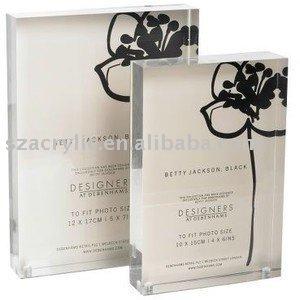 5x7 Inch Magnet Acrylic Metal Block Frame Buy 5x7 Acrylic Frames