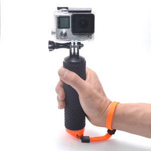 Floating Hand Grip Handle Mount Monopod For Go Pro 4 3+ 3 2 1 Sports Camera