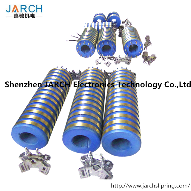 14 Rings Customized Collector Slip Ring assembly,alternator Slip Ring of Induction Motor