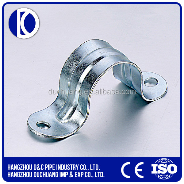 China stainless electric galvanized conduit clip