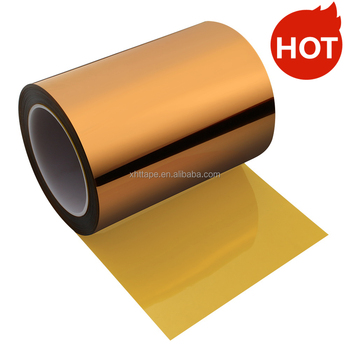 Non-Adhesive polyimide film sheets ESD mylar film 50MM*50M*0.075MM
