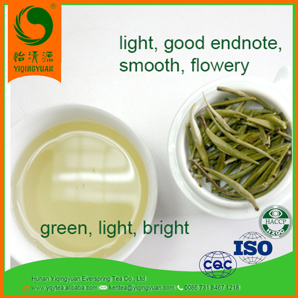 Spring Natural Jasmine Flavor single bud White silver Needle tea