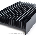 Extruded heat sink aluminium profile