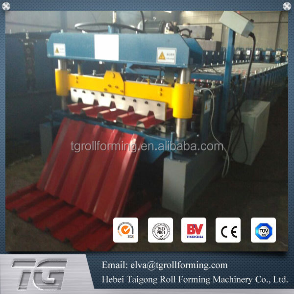 Plate profiling machines metal roof rolled fome machine