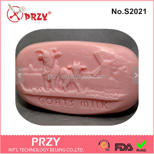S2021 PRZY Eco-friendly DIY craft goat milk silicone mold for soap