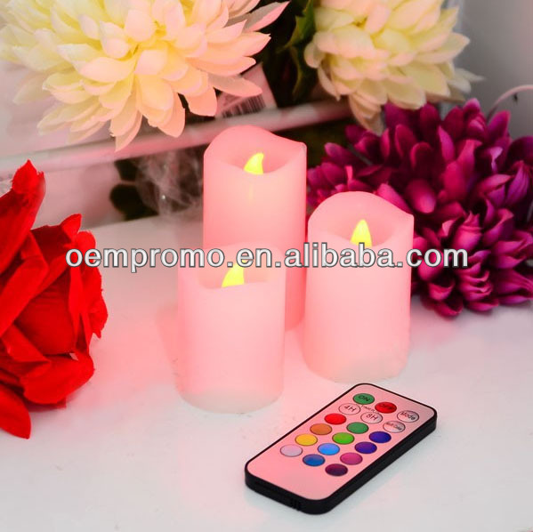 Nice Remote Control Color-changing Led Candle