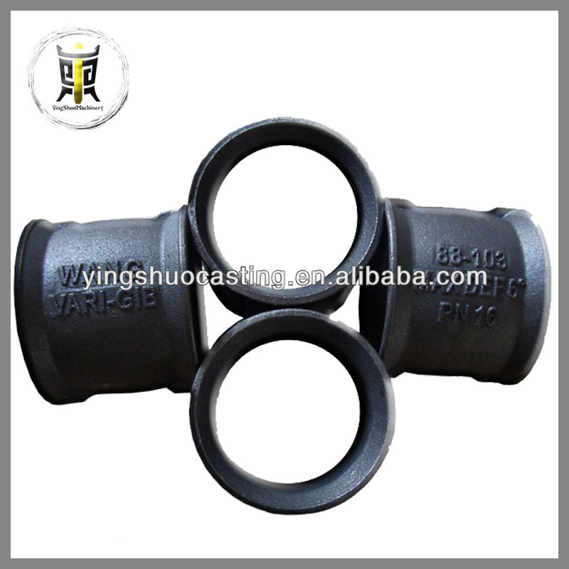 ISO custom cast iron pipe and fittings