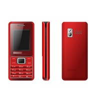 Custom LOGO OEM Mobile phone 1.8 inch Screen Quad Band Dual SIM Card Unlocked GSM GPRS OEM Mobile Phone