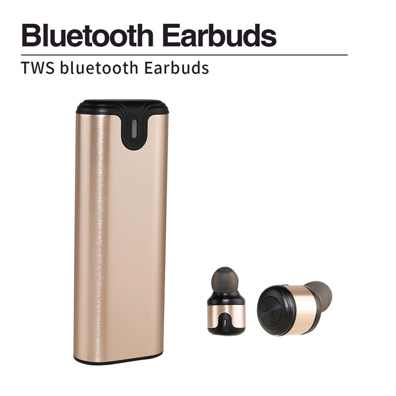 OEM Brand TWS Stereo In-Ear Wireless Sport Mini Earphone for iPhone X Samsung note 7