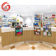 Excellent medical store display furniture for pharmacy interior design