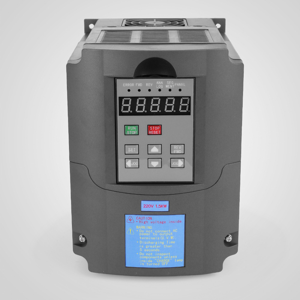 1.5KW VFD SOLUTIONS RATTING 7A 220-250V Variable Frequency Driver