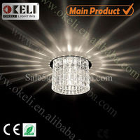 Indoor lighiting G4 G9 G5.3 clear crystal light ceiling