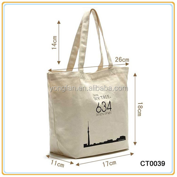 Cheap Popular Selling <strong>Eco</strong> Friendly Cotton Shopping Bag Canvas Shoulder Bag