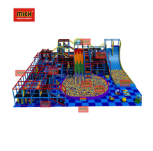 ISO EN TUV CErtificate Indoor Playground Kids Soft Play Balls Big Slide Naughty Castle
