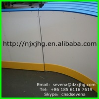 HDPE dasher board/ hockey training pads/ synthetic ice rink factory