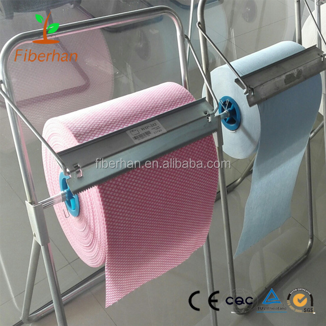 Lint free tissue paper Nonwoven cleaning cloth Bamboo cleaning cloth