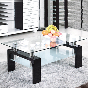Living room furniture modern glass coffee table cheap center table for sale,glass table