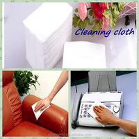 Hot new nonwoven disposable furniture and household applications cleaning cloth
